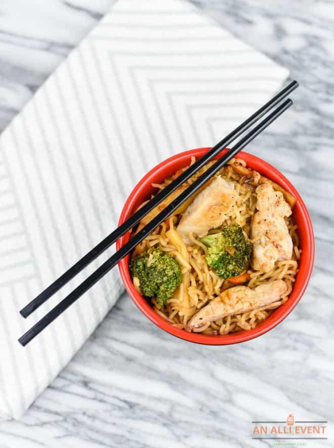 How to Make Miso Pork Ramen Stir-Fry