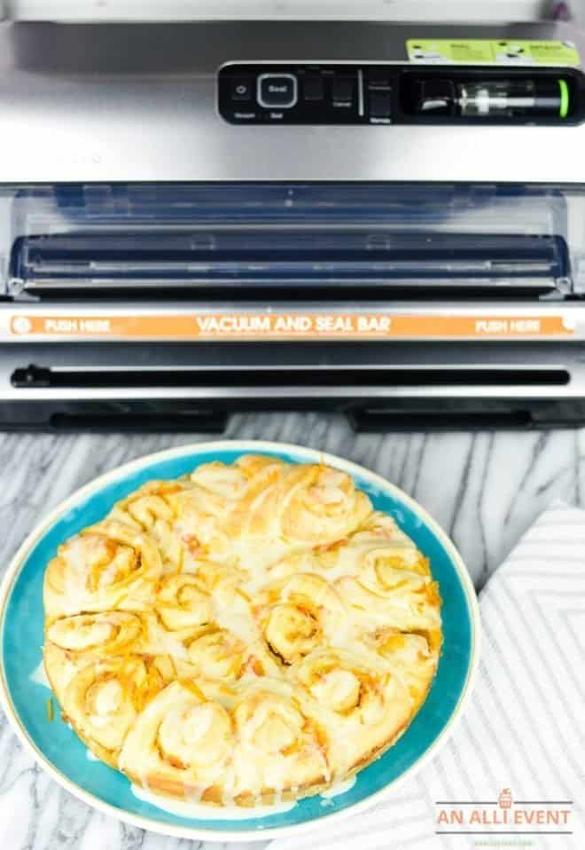 How to Make Orange Sweet Rolls