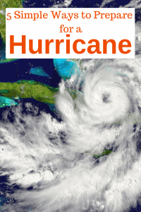 5 Simple Ways to Prepare for a Hurricane