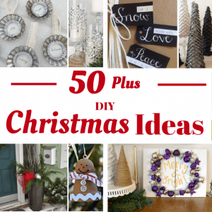 DIY Christmas Ideas from over 50 bloggers