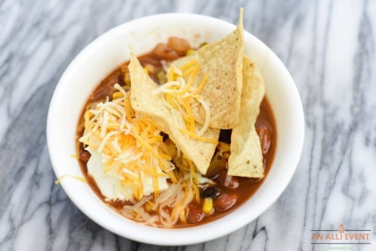 Recipe for Vegetarian Taco Soup