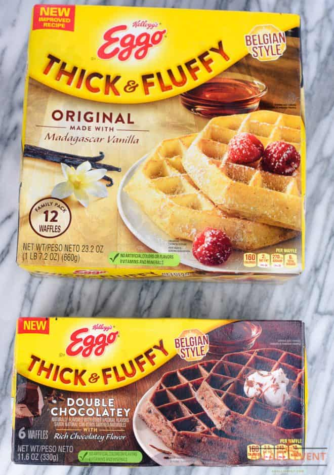 Eggo thick and and Fluffy Waffles