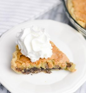 Easy Chocolate Chip Pie