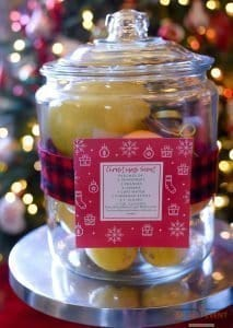Christmas Scent in a Jar