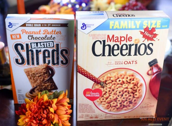Breakfast Ideas Including Several Cereal Selections
