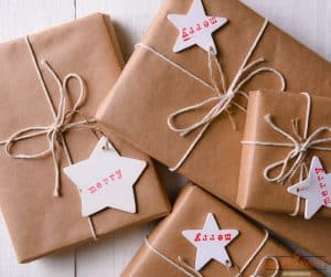 Gift Wrapping Tips and Tricks for wrapping presents.
