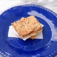 Toffee Pecan Pie Squares
