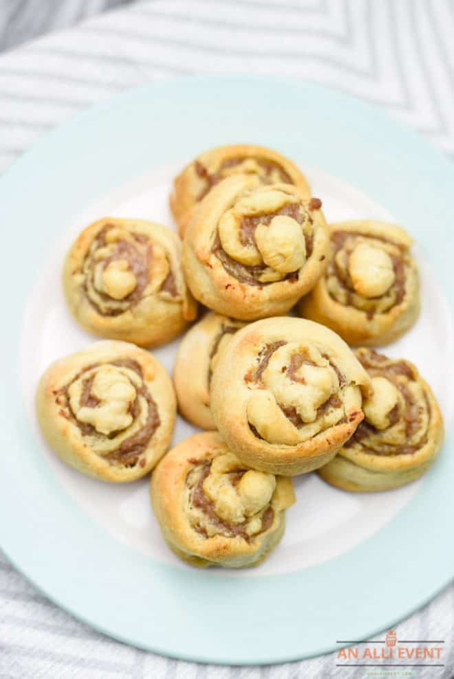 Sausage Pinwheels are easy to make