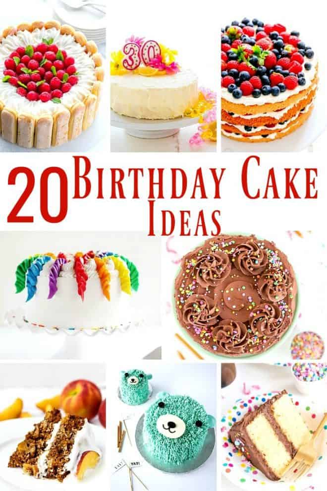 20 Gorgeous Birthday Cake Ideas