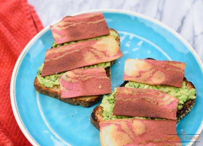 MorningStar Farms Bacon Strips - Easy Avocado Toast