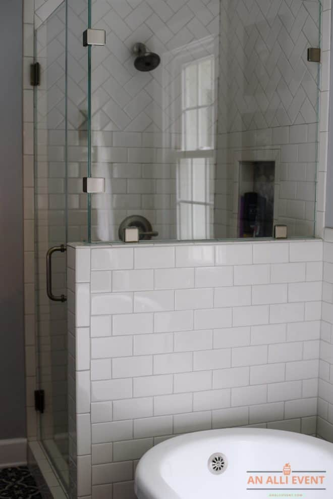 Shower - Complete Bathroom Remodel