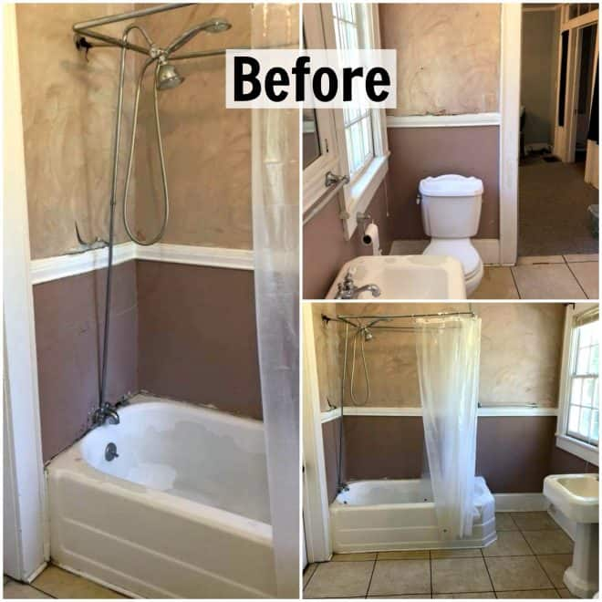 Complete Bathroom Remodel - This is the before photo!