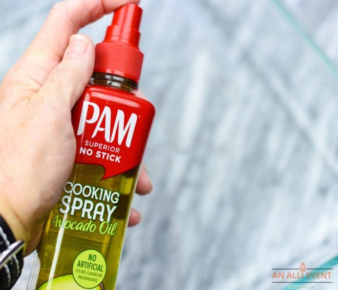 Breakfast Enchiladas - Spray with PAM