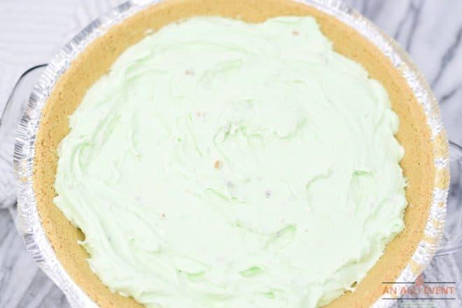 Filling for No Bake Kiwi Pistachio Pie