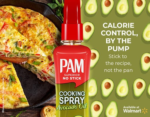 Use Pam Cooking Spray to Make Breakfast Enchiladas