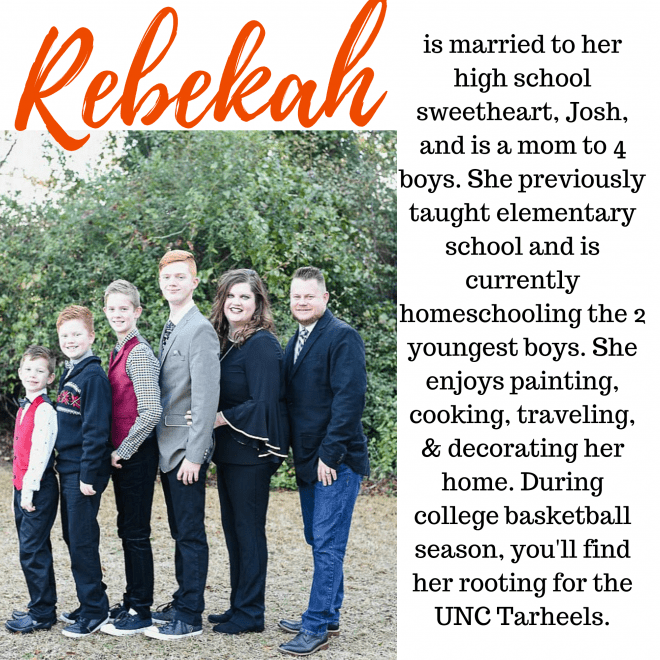 Bio of Rebekah