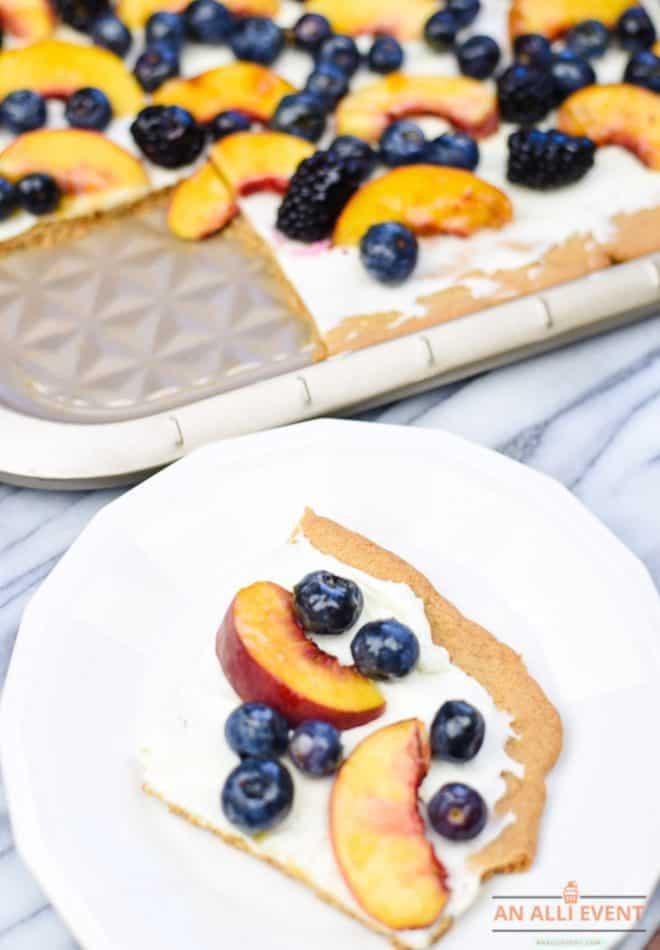 Almond Sugar Cookie Tart
