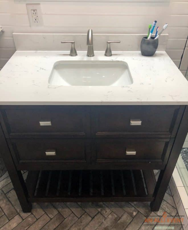 New Vanity for Boys Bathroom