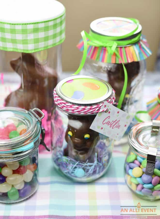 Easy Easter Mason Jar Craft Ideas