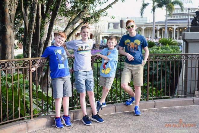 The Grandkids at Magic Kingdom Walt Disney World