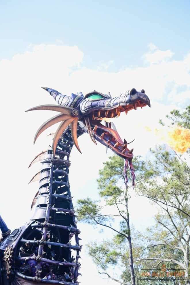 Dragon at Walt Disney World