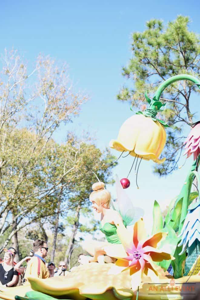 Tinkerbell at Fantasy Parade - Magic Kingdom