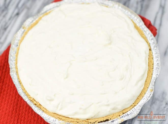 Step 2 - How to Make a Strawberry Cheesecake Pie