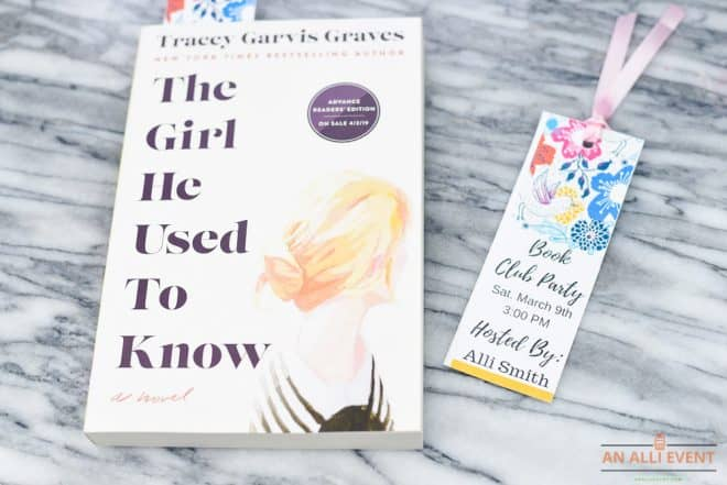 The Girl He Used to Know Book Club Party