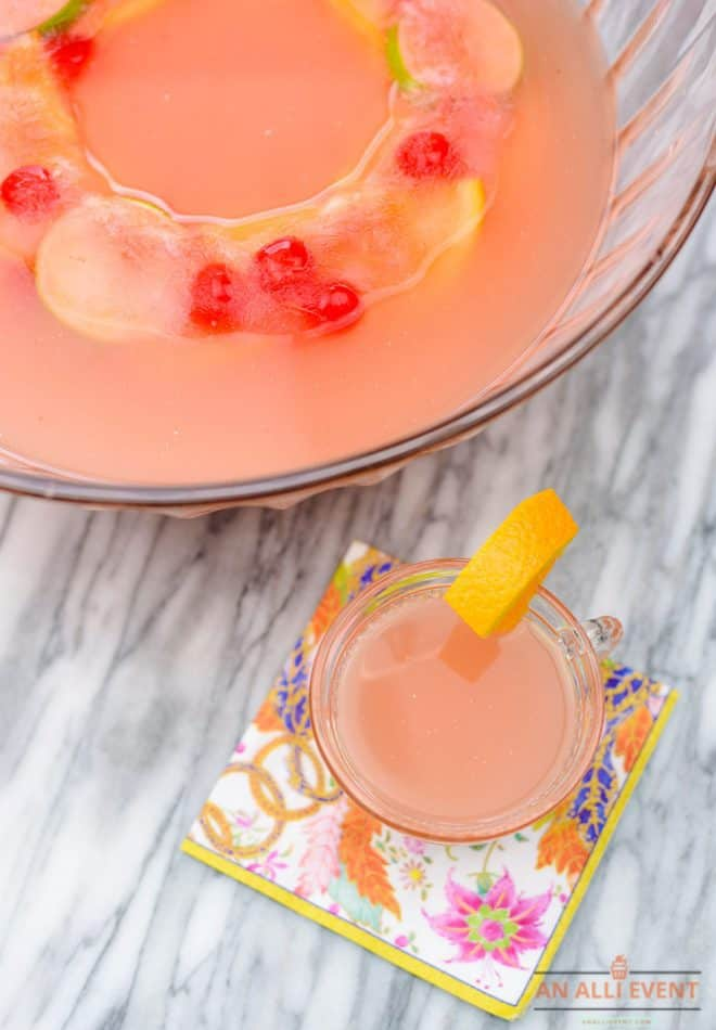 How to Make Tropical Tea Punch