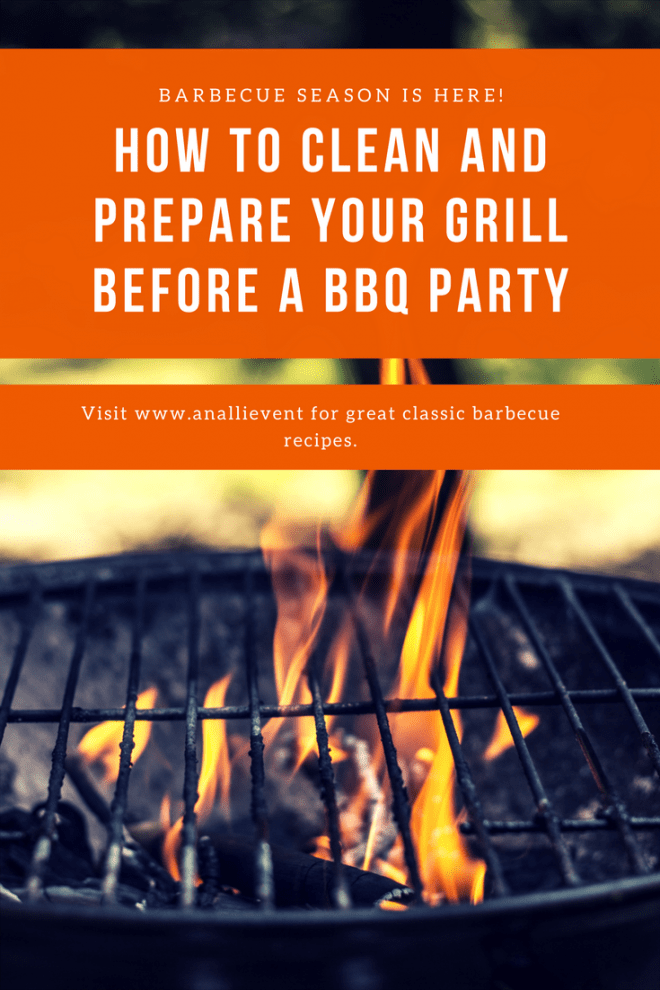 How to Clean Your Grill Before Your Next Party