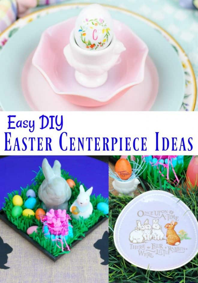 Easy DIY Easter Centerpieces