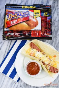 Grilling Party Ideas - Taco Dogs