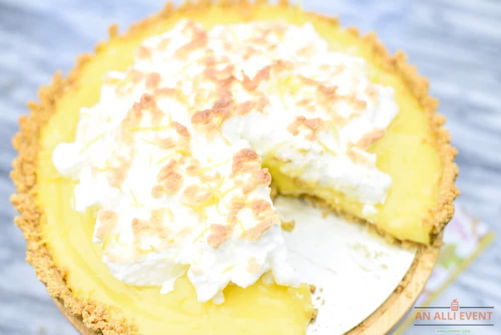 Meyer Lemon Meringue Tart