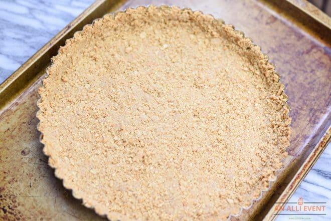 Graham Cracker Crust for Lemon Tart