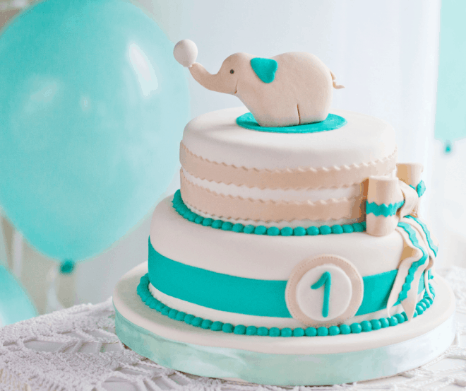 Dumbo Cake and Carnival Party Ideas