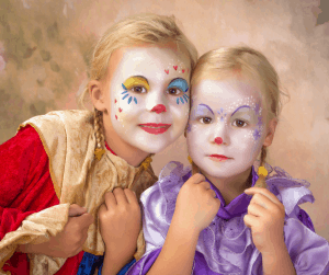 Face Painting Ideas for Dumbo Birthday Party