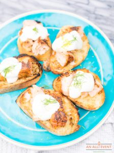 Grilled Sweet and Spicy Salmon Bruschetta