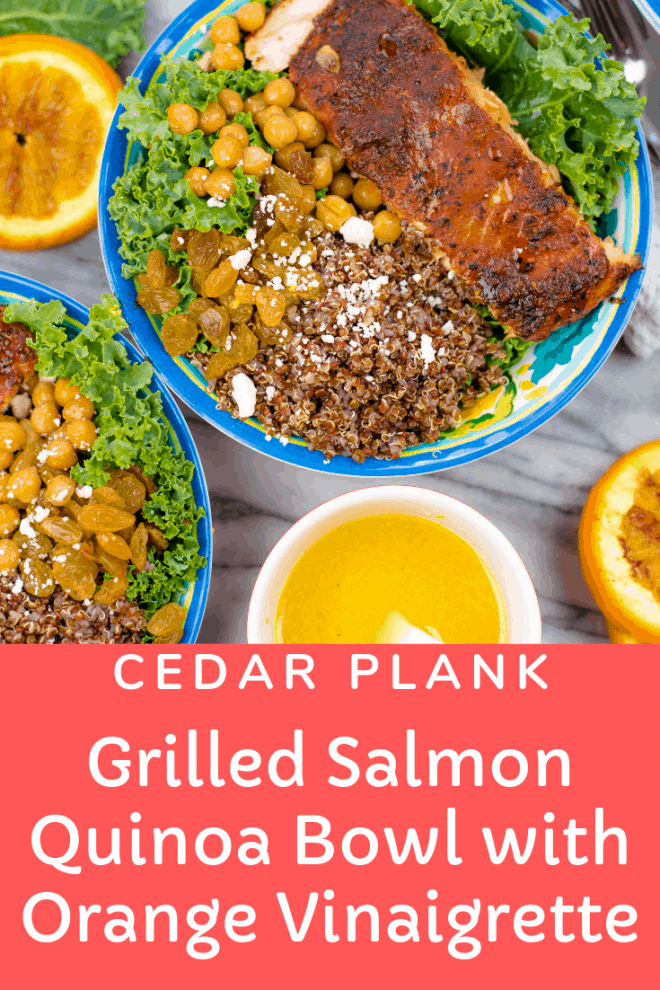 Grilled Salmon and Quinoa Bowl