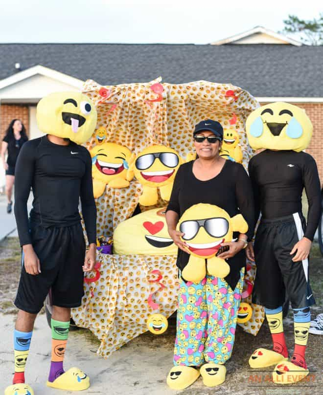 Emojis theme for Trunk or Treat