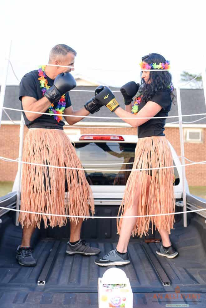 Hawaiian Punch Theme - Trunk or Treat