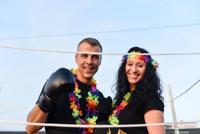 Hawaiian Punch Couple