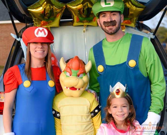 Mario Brothers Trunk or Treat