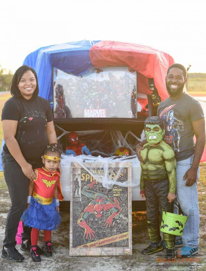 Marvel Trunk or Treat