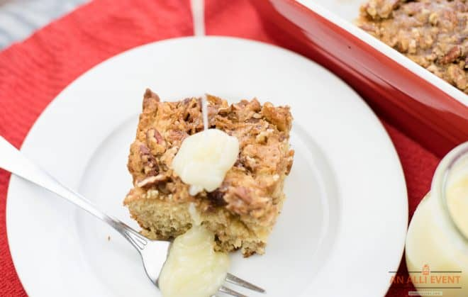 Serve Coffee Cake with Sauce
