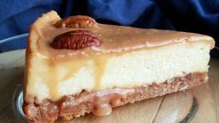 Kathy's Caramel Pecan Cheesecake
