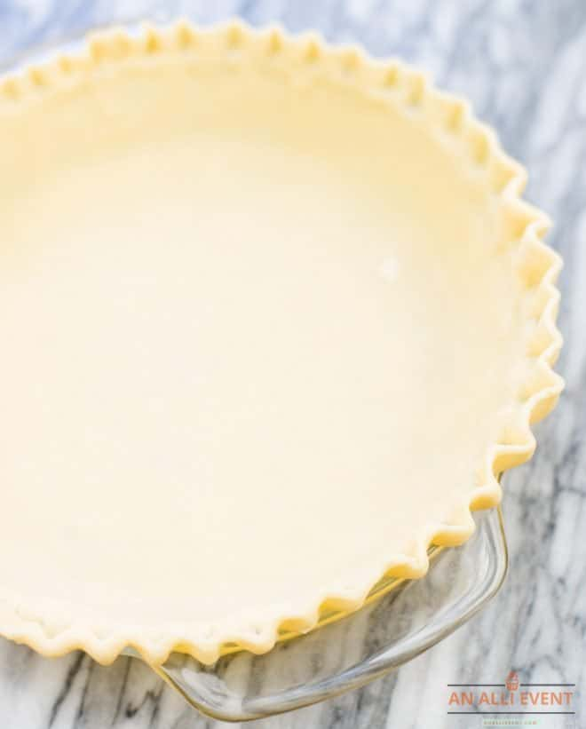 pie crust for pecan chocolate pie