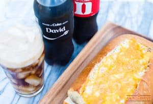 Share A Coke and Cheesy Bread