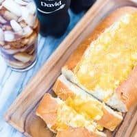 Cheesy Artichoke Stuffed Italian Bread