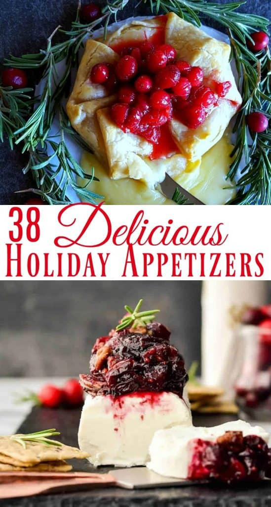 Holiday Themed Appetizers