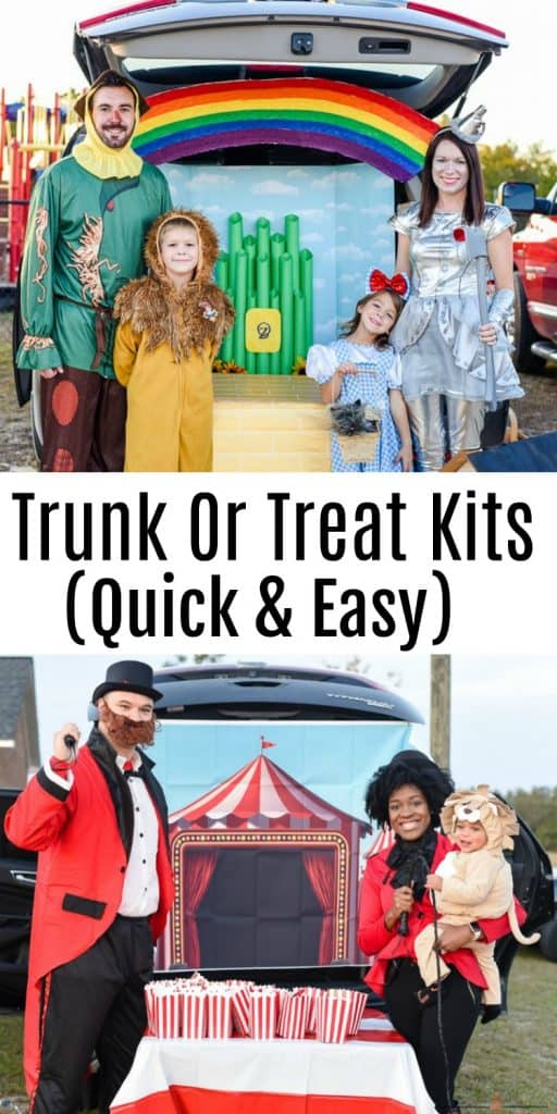 Trunk Decorating Kits for Trunk or Treat